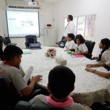 Skype Session With Billabong High International School , Mumbai Jan 2017