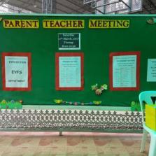Parent & Teacher Meeting 11/03/2017