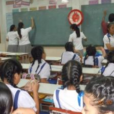 English support classes for Thai children@Samathi songklo school