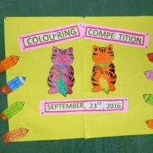 EYFS Colouring  Competition 2016