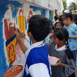 Primary Intramural Wall painting Competition 2019