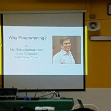 Computer Science 'Why Programming?' Seminar