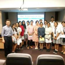 Visit to faculty of Psychology Chulalongkorn University by sixth form psychology students.