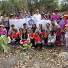 Community service (Tree Planting) by Year 13 at Lopburi