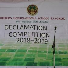 Declamation Competition 29.11.18