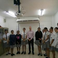 Interactive session of Psychology students