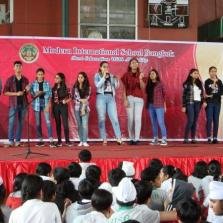 Secondary Intramural Singing Competition
