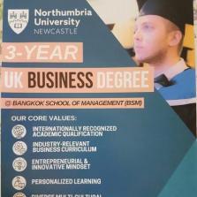 Visit by Northumbria University