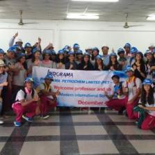 Year 12-13 Field Trip to indorama company rayong